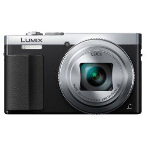 Panasonic Fotocamere Digitali Tz70 Lumix Wifi Nera E Silver
