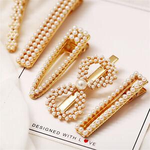 Elegant-Classic-White-Pearl-Hair-Clips-Hairpin-Barrette-Bobby-Hair-Accessories