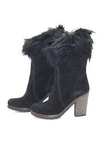 Uk Bottes 39 Nero Luxe Chaussures De Bottes Nouveau 3u5377 6 39 Nouveau Prada 5 1qaS7W