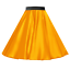 Girls-SATIN-Rock-n-Roll-Skirt-UK-1950s-Costume-Grease-Fancy-dress-ROCKABILLY thumbnail 3
