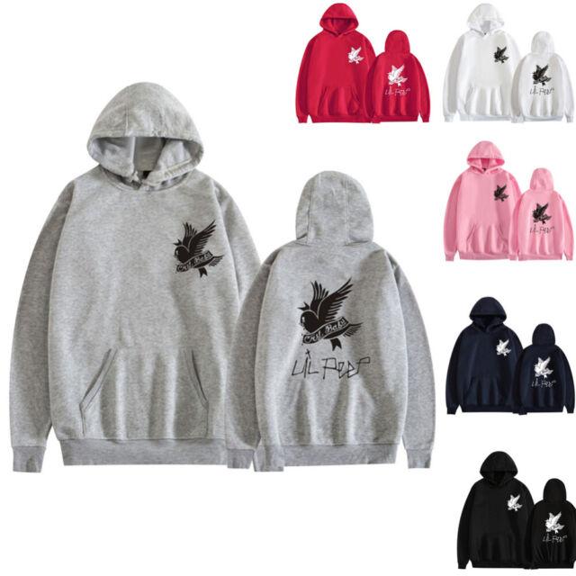 Lil Peep Hip Hop Hoodie Rapper Sad Face Sweatshirt Pullover Jacke Jungen Jumper