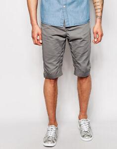 Men-s-New-JACK-amp-JONES-Knee-Length-Chino-Shorts-Waist-Size-28-034-to-38-034-Anti-Fit