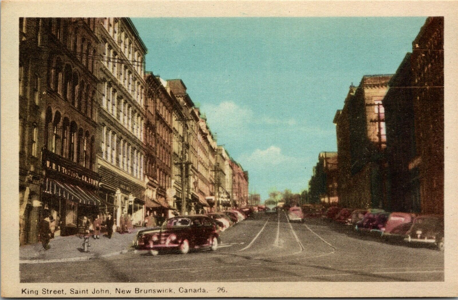Lot of 6 :  New Brunswick, Montreal Quebec Union Canada QC UNPOSTED POSTCARD