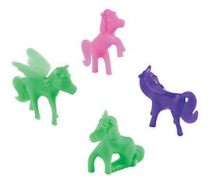 Pack-of-12-Small-Unicorn-Figures-Fantasy-Party-Loot-Bag-Stocking-Fillers