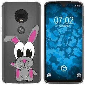 Motorola-Moto-G7-Coque-en-Silicone-Cutiemals-M4-Case-films-de-protection