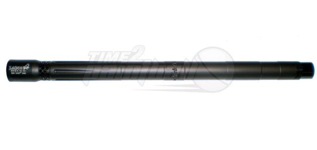 "Lapco Bigshot Tippmann 98 Custom .687 14"" Inch Barrel - Dust Black Alpha Salvo"