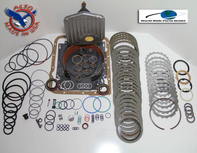 TH700R4 Rebuild Kit Heavy Duty HEG LS Kit Stage 4 w/3-4 Power Pack 1987-1993
