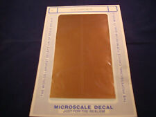 MICROSCALE DECAL TRIM FILM TF-30 COPPER METAL NEW