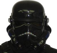 Black Replica Stormtrooper Helmet - Compatible With Shadowtrooper Costume Armour