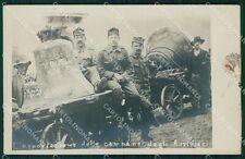 Belluno Comelico Superiore Padola di Cadore Campana Militari Foto cartolina QT38