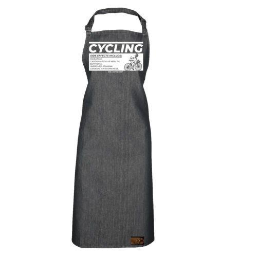 Cycling Side Effects Cycling funnyBirthdayCooking PREMIER APRON
