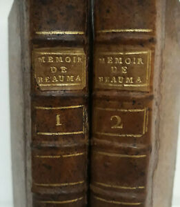 BEAUMARCHAIS-2-2vol-Collection-Complette-des-MEMOIRES-1777