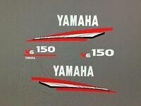 Yamaha Outboard 150 Hp 2 Stroke Decal Sticker Kit Marine Vinyl