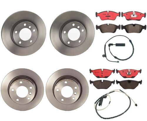 Front and Rear Full Brembo Brake Kit Disc Rotors Ceramic Pads For BMW E85 2.5i