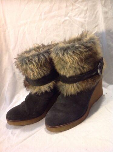 Size Ankle Boots Grey 41 Dark Suede Dune xXwqAUCn