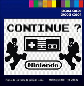 5-x-Sticker-Vinilo-Collection-Nintendo-Mario-Pegatinas-Vinyl-Bartop-Arcade