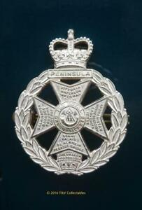 THE-ROYAL-GREEN-JACKETS-43rd-52nd-60th-RB-ALL-RANKS-CAP-BADGE