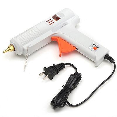 Pro 120w Electric Heating Hot Melt Glue Guns Craft Repair Tool Glue Sticks US/EU