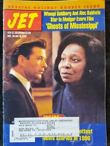 Jet Magazine Issue December 30- January 6 1997 Ghosts Of Mississippi Whoopi
