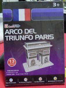Puzzle 3D CubicFun cod S3014h ARCO DEL TRIUNFO PARIS S serie - Italia - Puzzle 3D CubicFun cod S3014h ARCO DEL TRIUNFO PARIS S serie - Italia