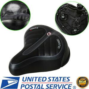 Extra-Comfort-Wide-Big-Bum-Bike-Bicycle-Gel-Cruiser-Sporty-Soft-Pad-Saddle-Seat