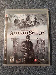 Vampire-Rain-Altered-Species-Sony-PlayStation-3-2008-CIB-Tested
