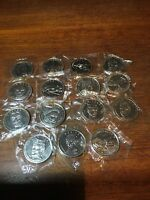 FINA 1993 COMPLETE THUNDERBIRDS COIN COLLECTION. 15 Coins. STILL SEALED!