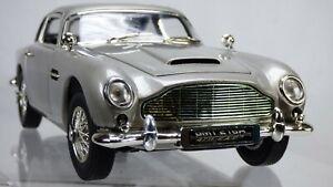 JOYRIDE-ERTL-1-18-1665-ASTON-MARTIN-DB5-James-Bond-007-gadget-modello-auto-giocattolo
