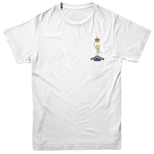 Royal Corps of Signals T-shirt British Army Inspired Embroidered Tee Top