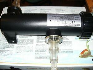 UV uv-C Steriliser Water Steriliser Pond Aquarium 11 Watt