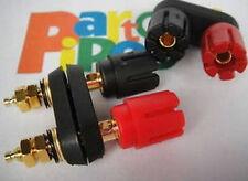 Amplifier Box Enclosure DIY 5-WAY Speaker Cable TERMINAL Dual BINDING POSTS,RBD