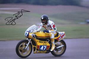 Hand-Signed-Roger-Burnett-Photo-8x12-RARE