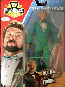 MILLION DOLLAR MAN TED DIBIASE WWF FLASHBACK FIGURE WWE BUILD HOWARD FINKEL