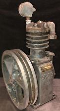 Vintage Kellogg Model 261 7370 Cast Iron Air Compressor Pump With 1375 Flywheel