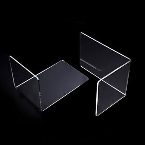 2pcs-S-M-L-Clear-Acrylic-Bookend-Organizer-Stand-Stationery-Book-Shelf-3-Sizes