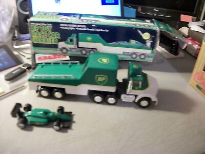 MOBILE OIL RACE CAR CARRIER #2 IN SERIES-LTD EDITION
