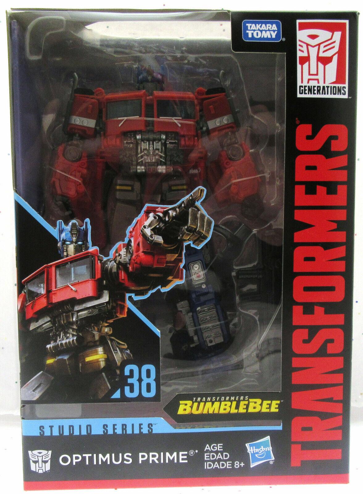 TRANSFORMERS  Optimus Prime 38  Studio Series  Autobot  Hasbro