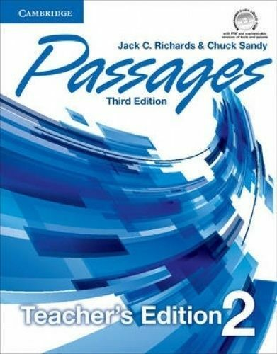Passages Level 2 cher's Edition with Assessment Audio CDCDROM by Richards,