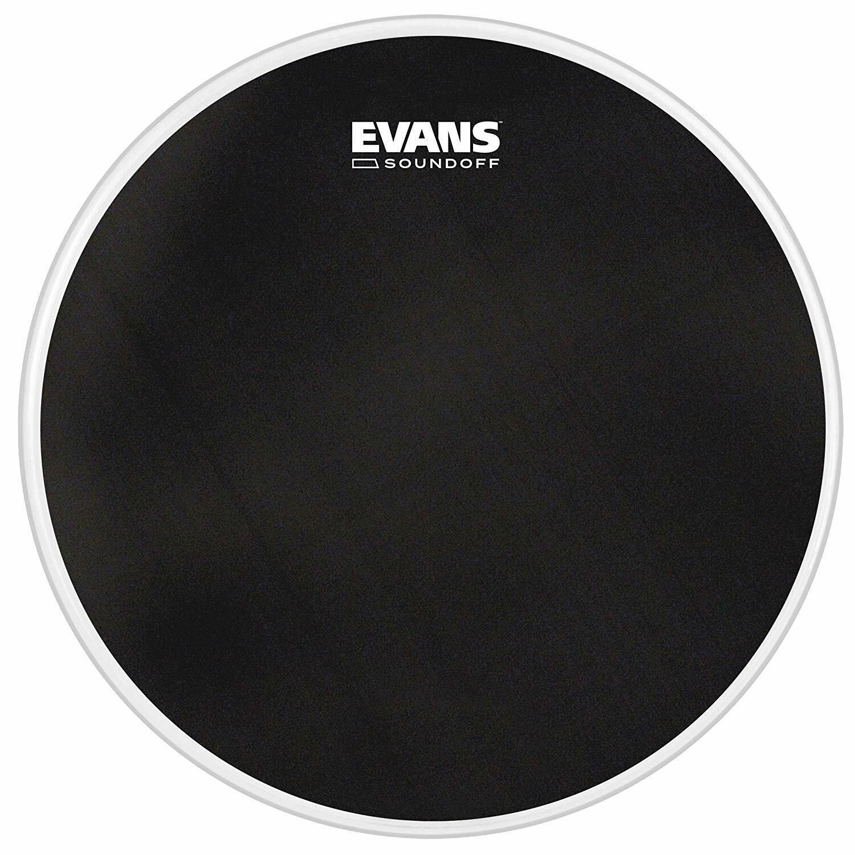 Evans Soundoff 22  Mesh Bass Drum Head, Practise   Electronic Triggers - BD22SO1