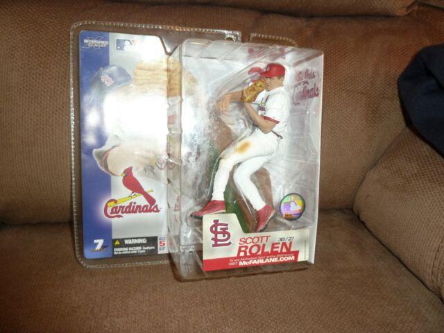 McFarlane 2003 Scott Rolen St. Louis Cardinals MLB series 7 white jersey variant