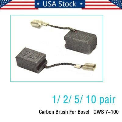 1//2//5//10 pair Carbon Brushes For Bosch Grinder 6.5X8mm 7-100 7-125 1619P02892