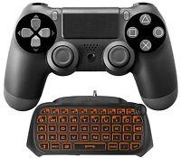 Nyko Playstation 4 Type Pad Keypad Keyboard For Ps4