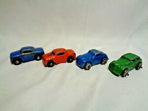Old-Barclay-Cars-for-Toy-Car-Hauler-Truck-Lot-of-4-1C