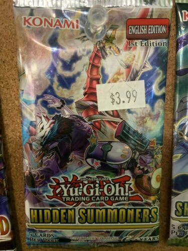 various sets you choose the packs. Yu-gi-oh Booster packs