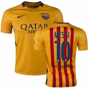 cheaper 9784f b8cd0 Nike lionel messi fc barcelona away jersey 201516 t