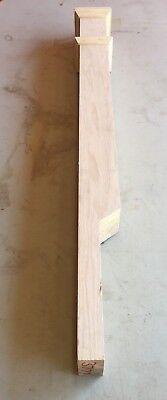 "Colonial Stair /& Woodwork Starting Newel 2 1//4/"" x 2 1//4/"" x 35 1//2/"" Oak W-3205"