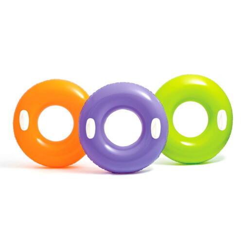 76 cm Schwimmring Schwimmreifen Griff Wasserring Badespaß Lounge Schwimmsessel