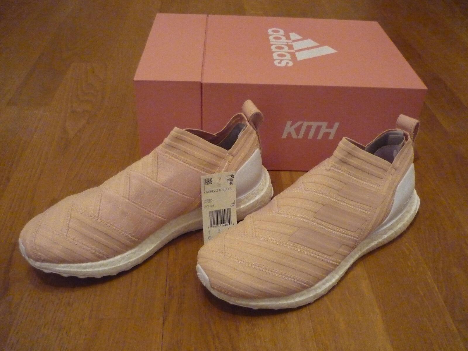 Kith x adidas Soccer nemeziz 17.1 ultra Boost Flamingo us 8,5 UE 42 Ronnie Fieg