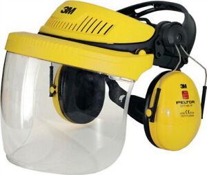 Arbeitskleidung & -schutz Angemessen Gesichts-/gehörschutz Kombination G5v5f1h51 Gelb Snr 26db Peltor En352-1/3 Auf Der Ganzen Welt Verteilt Werden Business & Industrie
