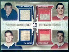 JEAN BELIVEAU/HORTON/RICHARD/MAHOVLICH  AUTHENTIC PIECES OF GAME-USED JERSEY/10